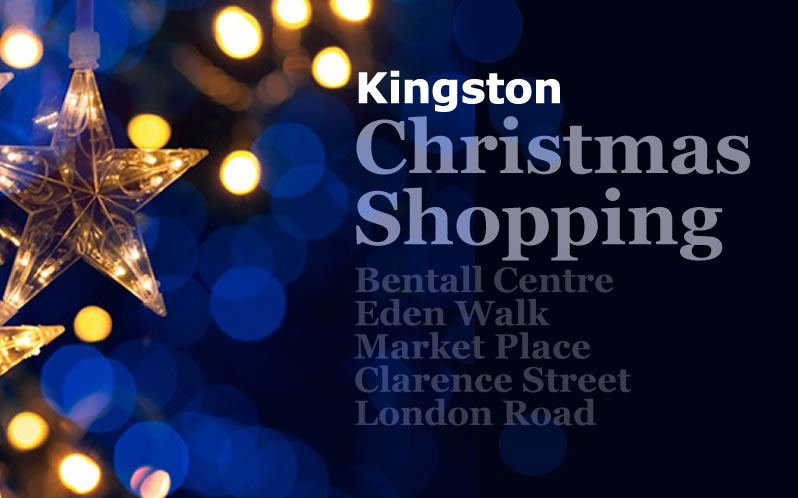 Christmas shopping in Kingston upon Thames
