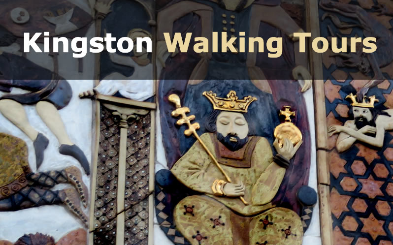 Walking tours of historical Kingston upon Thames